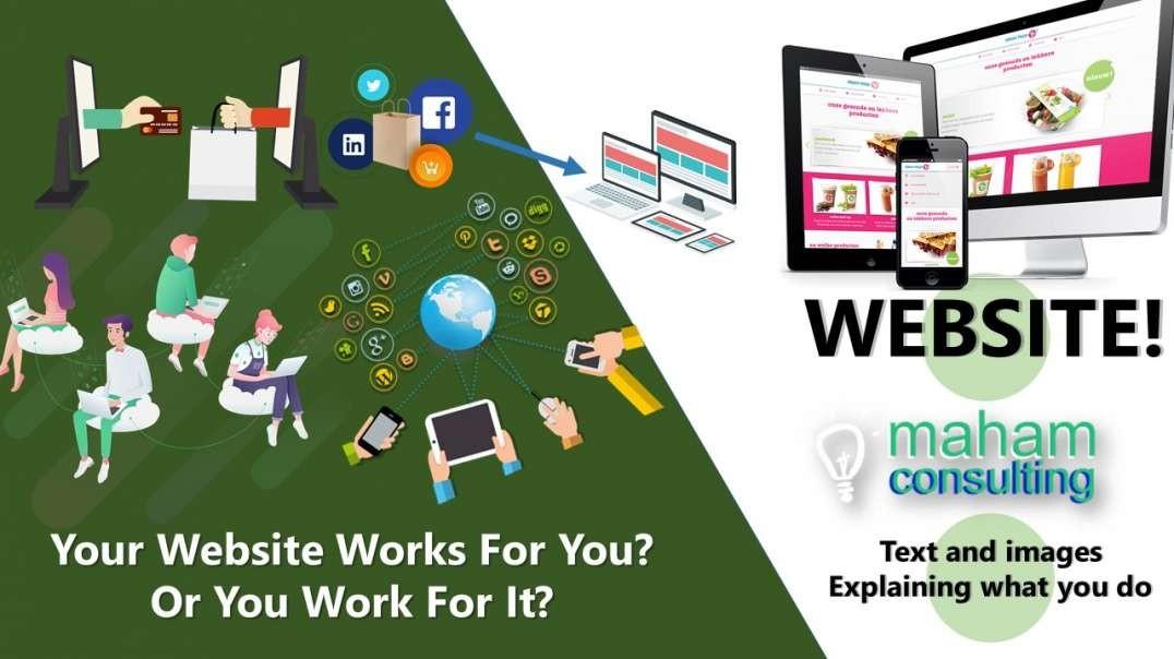 MAHAM Web Design